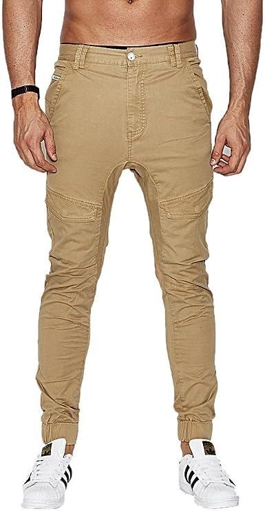 NENA AND PASADENA Pantalones Nena Pasadena – Flight marrón Talla: 30 USA – 40 España (Hombre): Amazon.es: Ropa y accesorios