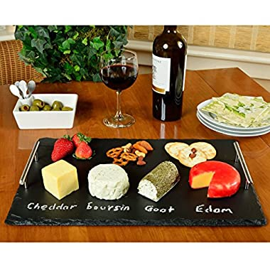 Picnic at Ascot Sardo Slate Cheese Board with Soap Chalk