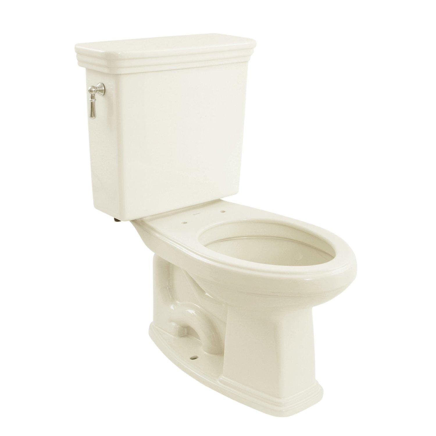 TOTO CST424EF#11 Eco Promenade Two Piece Elongated Toilet, Colonial ...