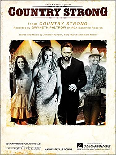 country strong gwyneth paltrow sheet music
