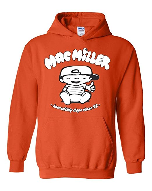 9f6494805607 Artix Mac Miller Baby Incredibly Dope Since 92 Clothing People Couples Best  Friend Gifts Unisex Hoodie