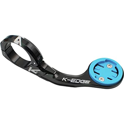K-EDGE Fixed Stem Mount for Wahoo Bolt and ELEMNT Computers Black