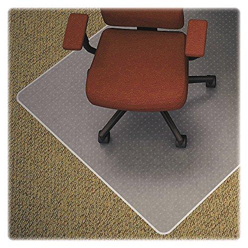 Lorell Chair Mat, Medium Pile, Standard Lip 19