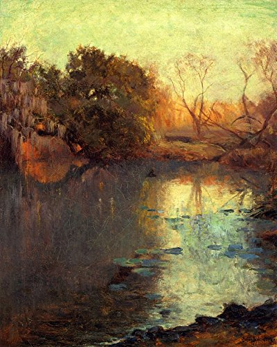 The Museum Outlet - On The San Antonio River, 1910 - Canvas Print Online Buy (60 X 80 - San Outlets Shopping Antonio