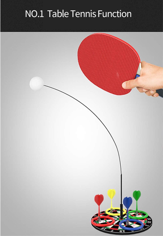 YEIBOBO Table Tennis Trainer Set with Elastic Soft Shaft