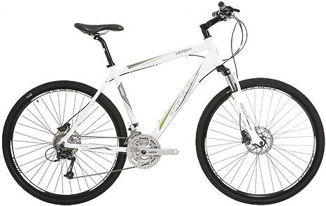Indigo - Bicicleta híbrida (27 velocidades, de montaña, suspensión ...