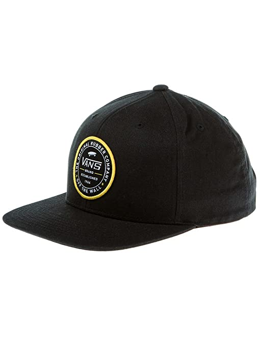 VANS MN Etablished 66 Snapback Baseball Cap black VA36YXBLK