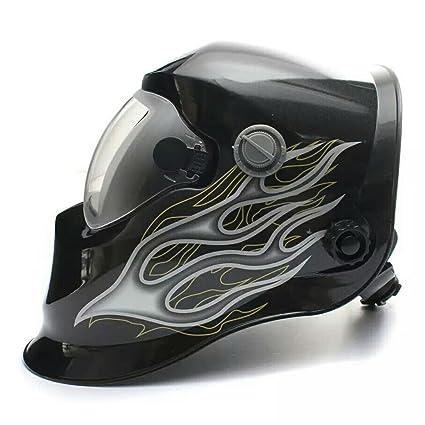 Energía Solar Auto-oscurecimiento Caretas para Soldar Casco de Soldadura Escudo Gafas Seguridad Máscara-