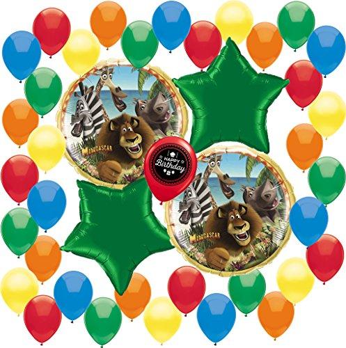 Madagascar Deluxe Balloon Decoration Bundle -