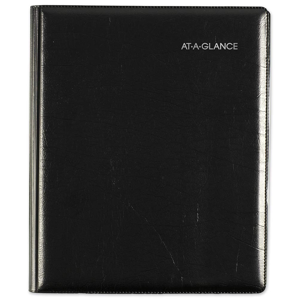AT-A-GLANCE 2019 Weekly & Monthly Appointment Book Refill, DayMinder, 7'' x 8-3/4'', Medium, Executive, Black (G54500) by AT-A-GLANCE