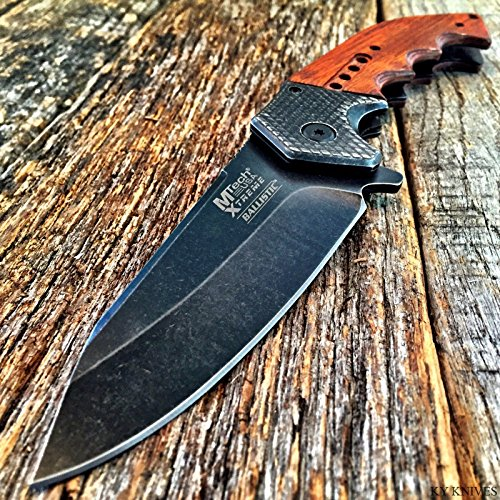MTECH XTREME BALLISTIC G'STORE Spring Assisted Open TACTICAL Pocket Knife BOWIE