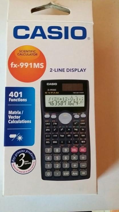 amazon com casio fx 991ms plus scientific calculator office products rh amazon com fx-991MS Calculator Images Fx- 991