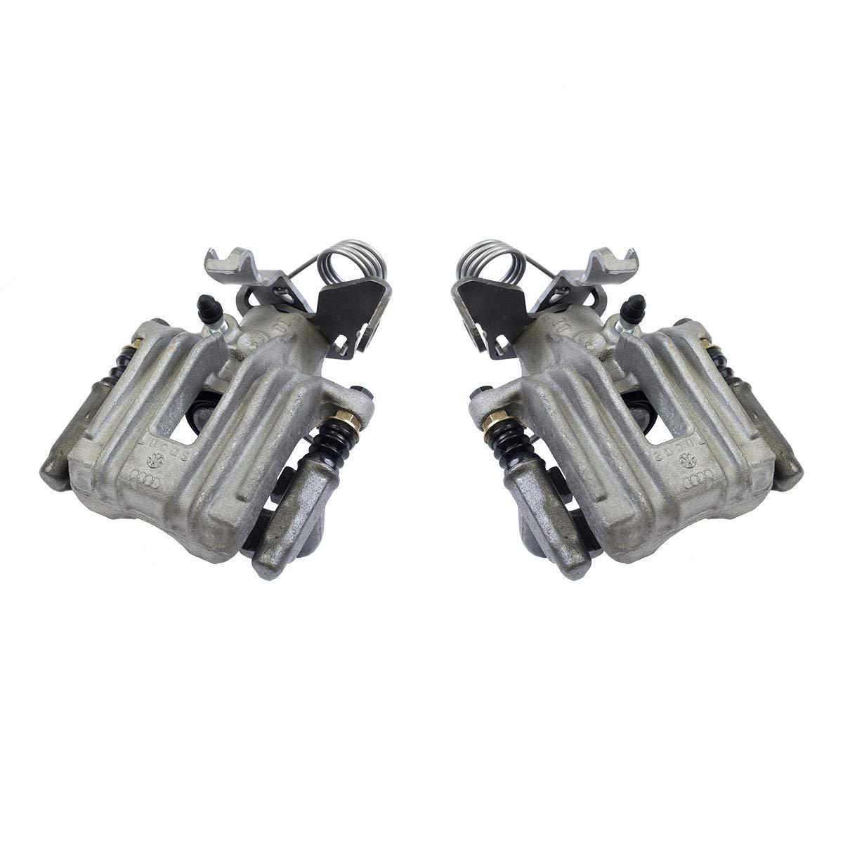 CCK03275 REAR [2] Premium Grade OE Semi-Loaded Caliper Assembly Pair Set Callahan Brake Parts