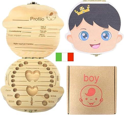 Creativee Caja de Dientes para niños, Organizador de ...