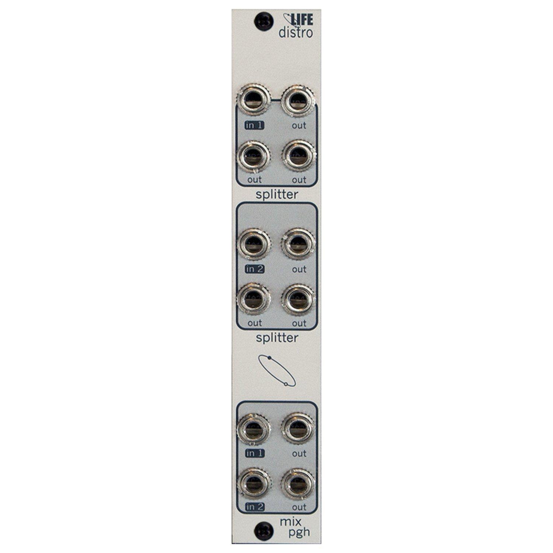 Pittsburgh Modular Lifeforms Distro Active Audio and CV Interchange Module by Pittsburgh Modular