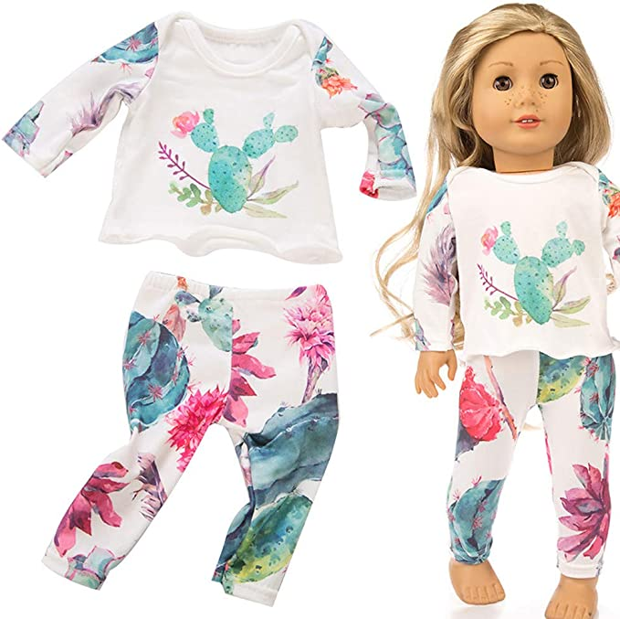 """Owl Pajamas Eye Mask Fits 18/"""" American Girl Doll Clothes"""