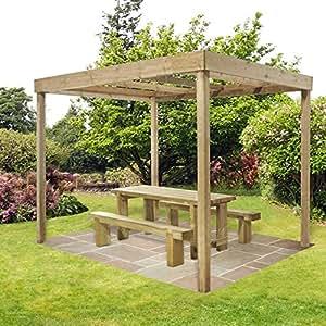 Paneles de comedor Pergola sin Estructura de jardín al aire libre función marco