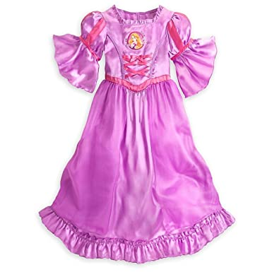Image Unavailable. Image not available for. Color  Disney Store Princess  Tangled Rapunzel Girl s Nightgown Pajama ... 5538da7f6