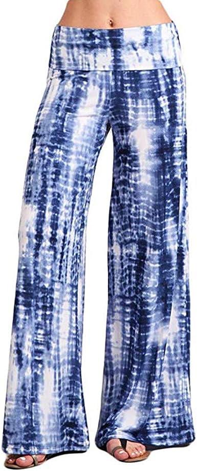 Wide Legs Tie Dye Palazzo Pants