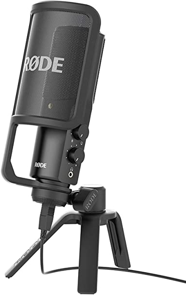 Rode NT-USB Microphone: Amazon.co.uk: Musical Instruments