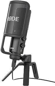 Rode NT-USB Versatile Studio-Quality USB Cardioid Condenser Microphone,Black