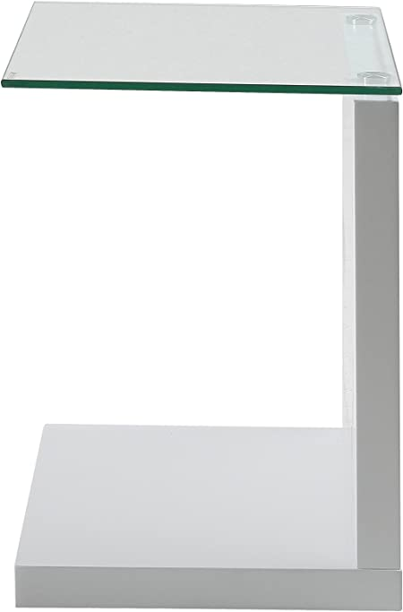 40 x 50 x 35 cm Michel Bianco Tavolino AC Design Furniture