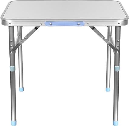 Camping Picknick Tisch Alutisch Gartentisch AC Alu Klapptisch höhenverstellbar