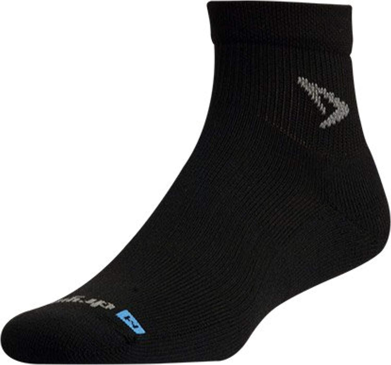 Drymax Run 1/4 Crew Socks Black XL by Drymax