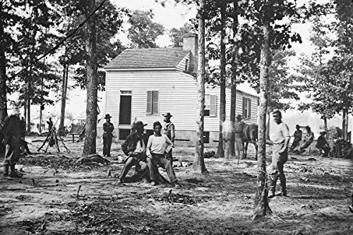 New 4x6 Civil War Photo: The Quarles House at Fair Oaks, Virginia - Fair Oaks Virginia