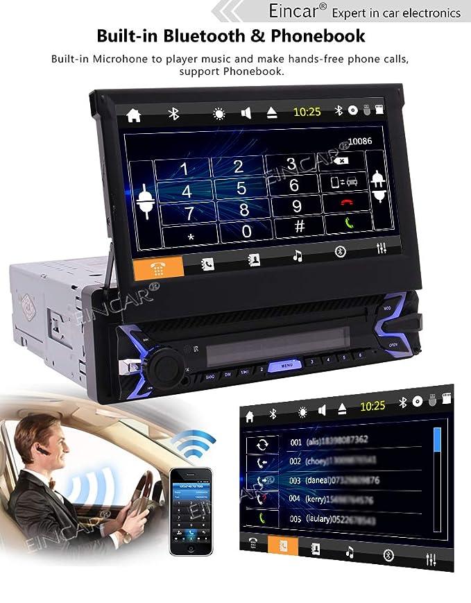 Sistema Wince Eincar Unidad de Navegación GPS del Coche Cabeza ...