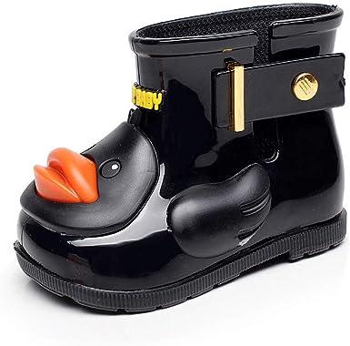 Children Kid Baby Girls Cute Bowknot Dot Rubber Waterproof Kids Boots Rain Shoes