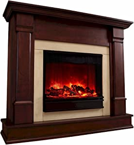 Real Flame Electric Fireplace G8600E Silverton Dark Mahogany, Dk