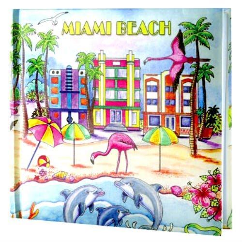 [해외]마이애미 비치 플로리다 사진 앨범색상 200 사진4x6 / Miami Beach Florida Photo Album wColor 200 Photos4x6