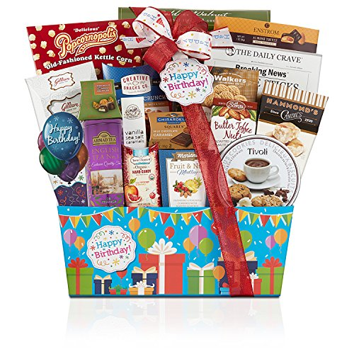 Wine Country Gift Baskets Happy Birthday, 4.50 - Country Wine Baskets Gift Popcorn