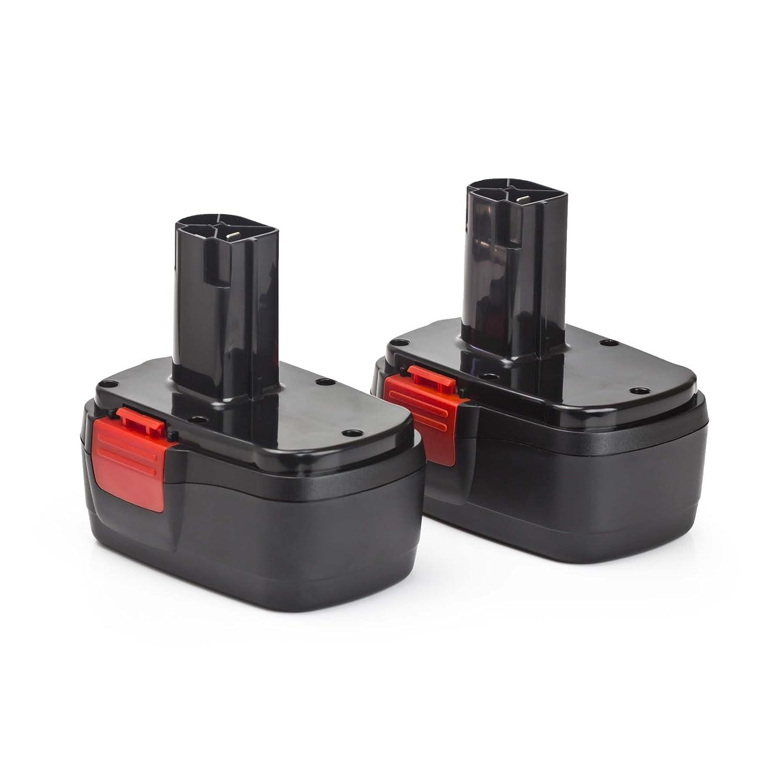 2 Pack ExpertPower 14.4v 2.0Ah/ 2000mAh NiMh Battery for Craftsman 11044, 130279002, 130251008, 1325101, 1322522