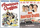 More Cars Music & Laughs American Graffiti DVD classic Movie Part 1 & 2 Double Feature