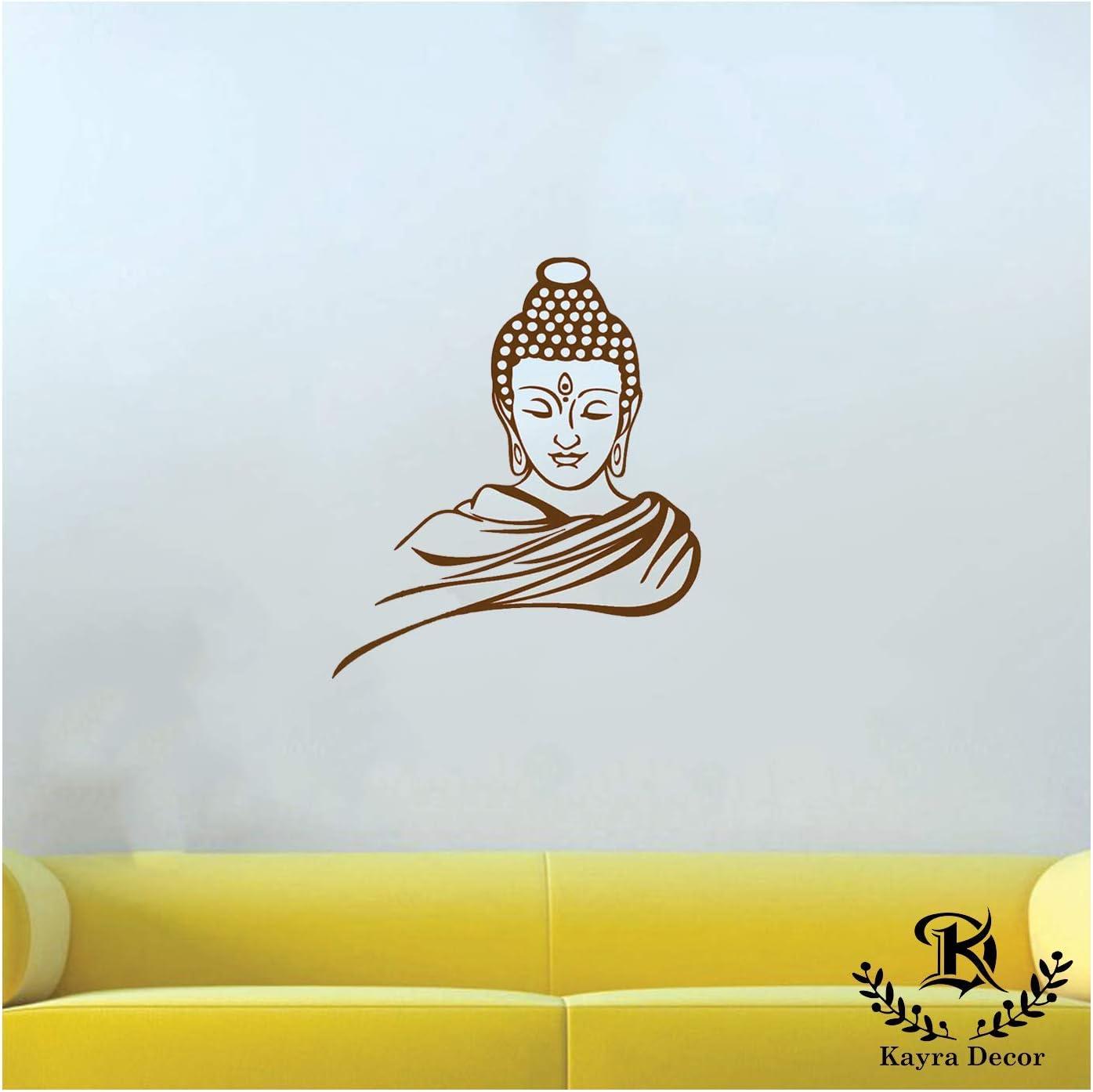 Buddha 3478 DIY Stencil  Plastic Acrylic Mylar Reusable