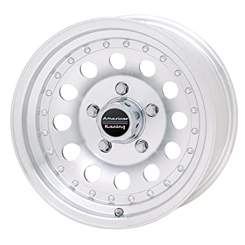 American Racing Outlaw Ll Wheel With Clear Coat Machined 17x8quot