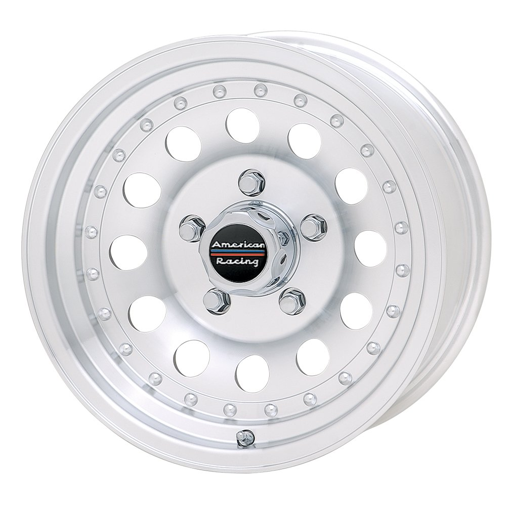 American Racing Outlaw II AR62 Machined Wheel with Clear Coat (16x7''/8x6.5'')