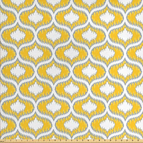 mustard yellow upholstery fabric - 6