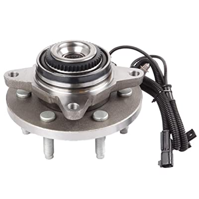 LSAILON Hub Assembly and Wheel Bearing X1 Replace for 2011 2012 2013 2014 Ford Expedition Ford F-150 Lincoln Navigator 515142 Front Wheel Hub Bearing Assemblies: Automotive