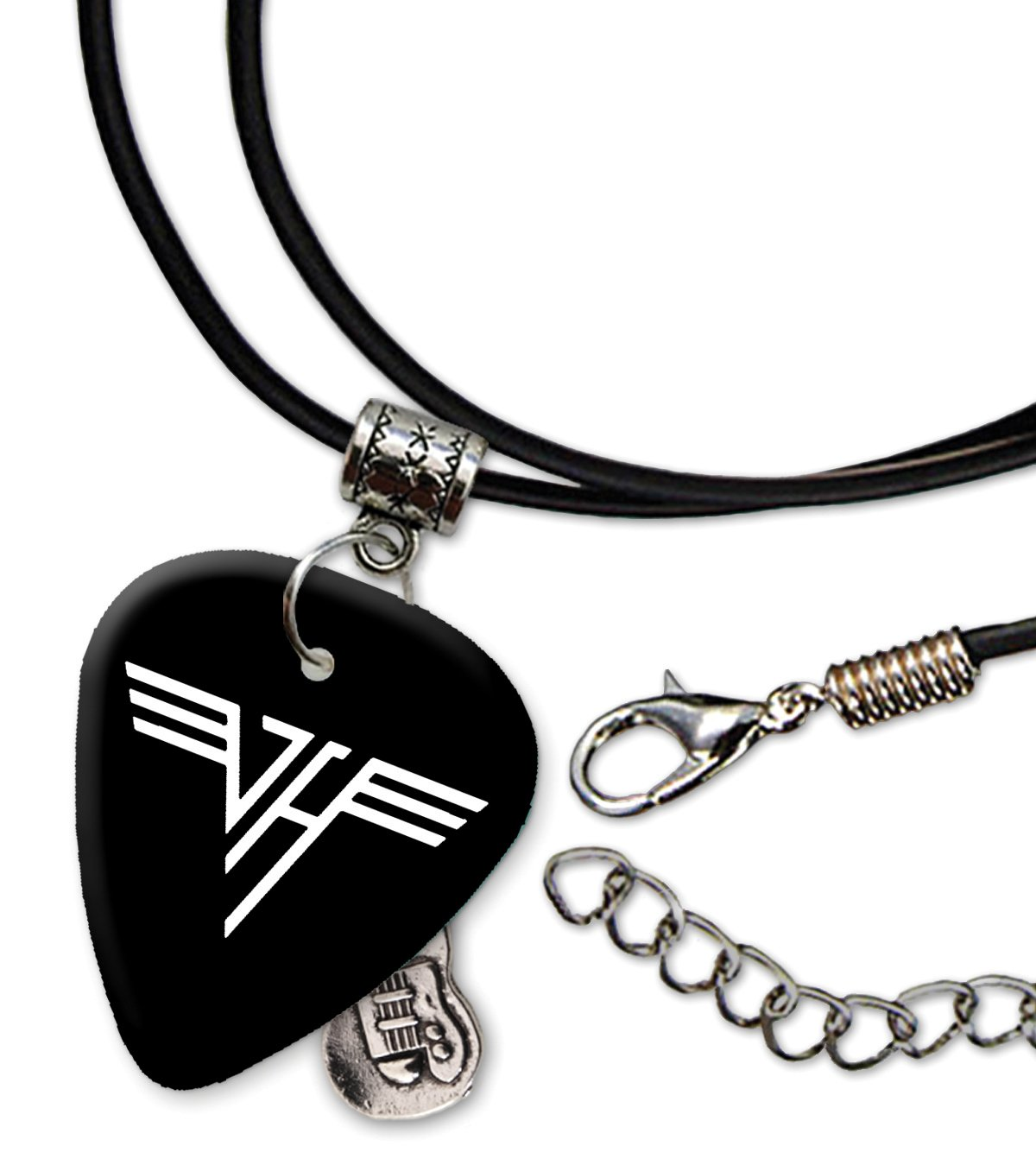 Van Halen Band Logo Collana di corda di chitarra plettro (H) We Love Guitars