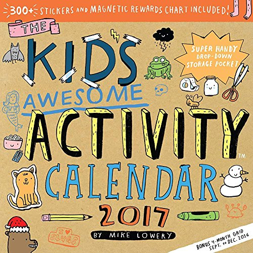 Kids Awesome Activity 2017 Calendar product image