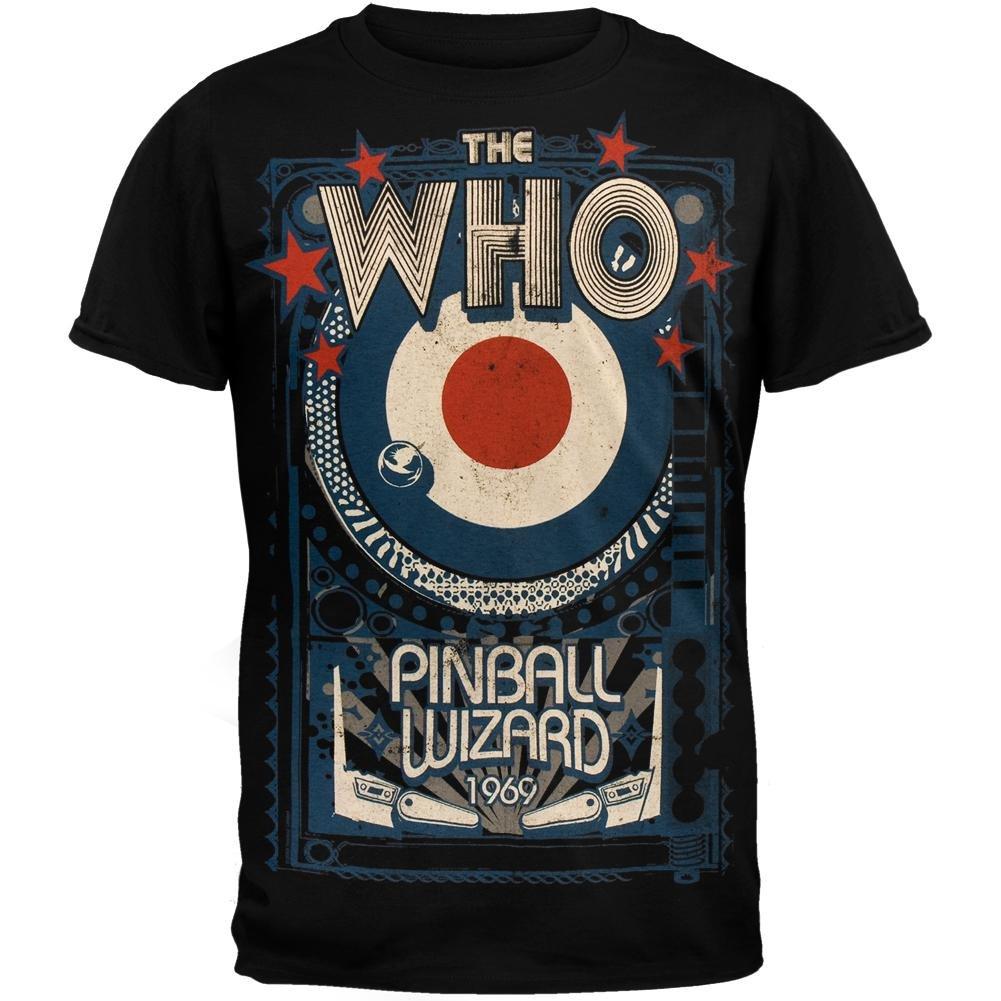 The Who - Pinball Wizard T-Shirt Liquid Blue