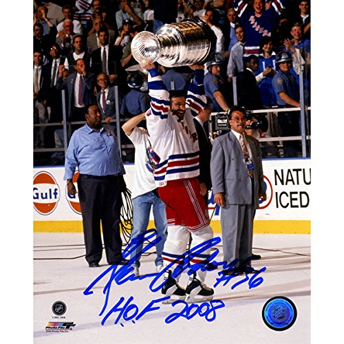 Glenn Anderson Autographed Holding Stanley Cup 8x10 ()