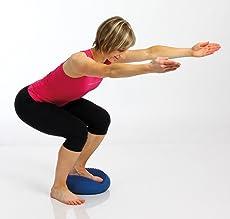 Übung auf dem Balancekissen