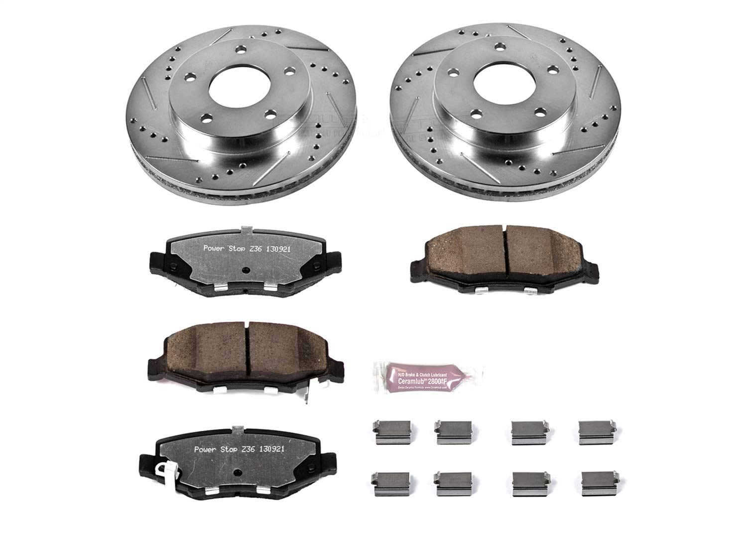 Power Stop K3046-36 Rear Z36 Truck and Tow Brake Kit