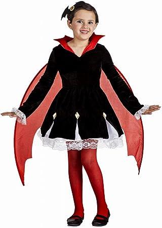 Disfraz de Vampira con alas para niña: Amazon.es: Juguetes y juegos