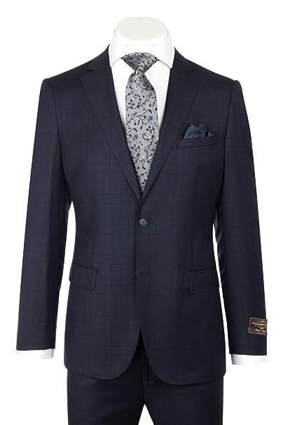 Amazon.com: Canaletto Menswear 286.740/2 - Traje de lana ...