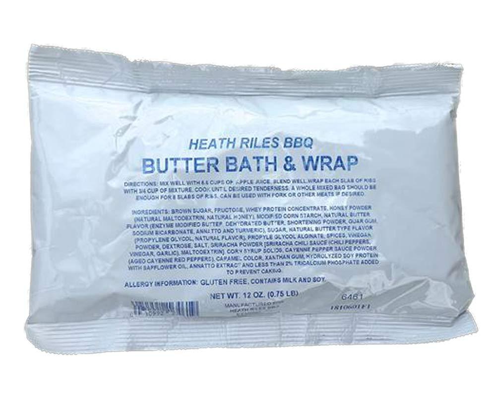 Heath Riles BBQ Butter Bath & Wrap, 12oz